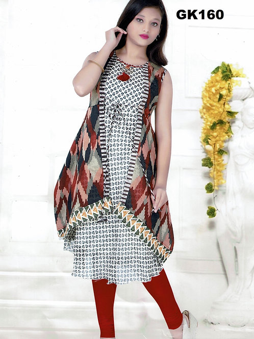 Girl's Kurthi with Legging - GK160