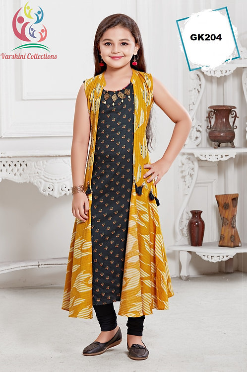 Girl's Kurthi with Legging - GK204
