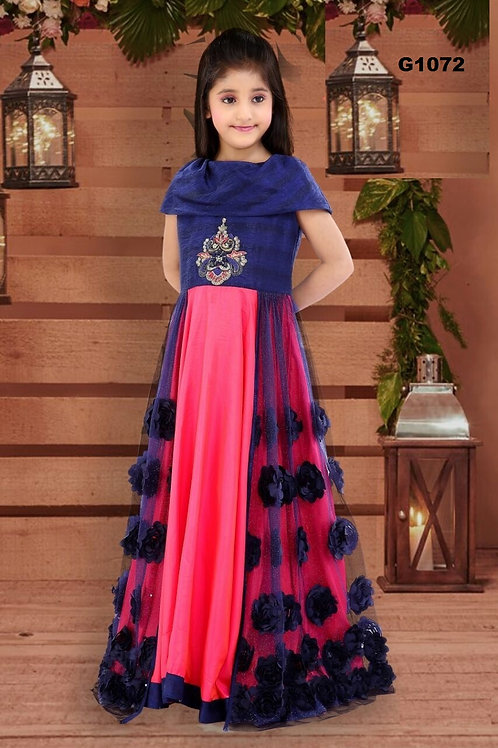 Girl's Long Gown - G1072