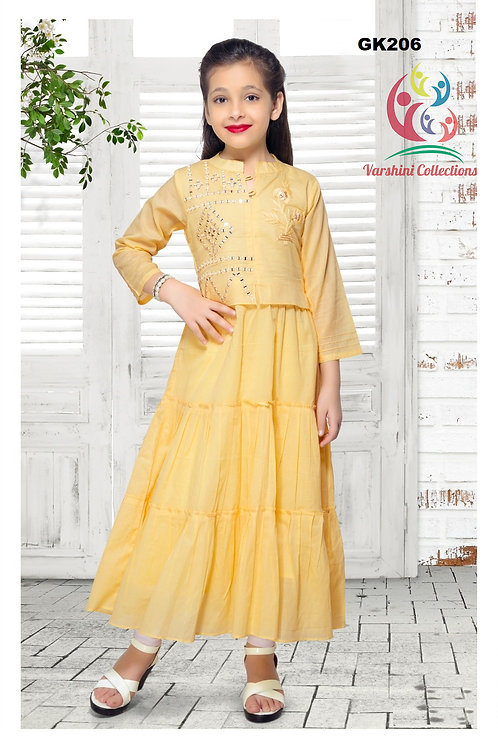 Girl's Kurthi with Legging - GK206