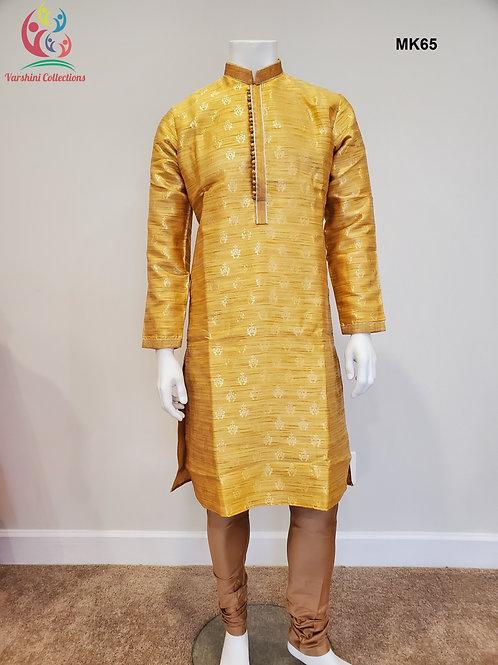 Men's Silk Kurta Pajama - MK65