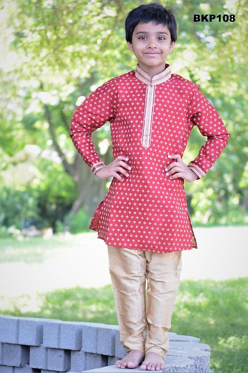 Boy's Kurta Pajama - BKP108