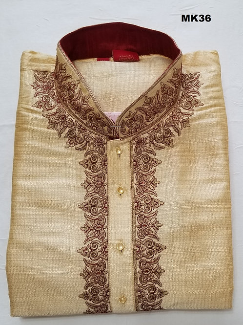 Men's Silk Kurta Pajama - MK36