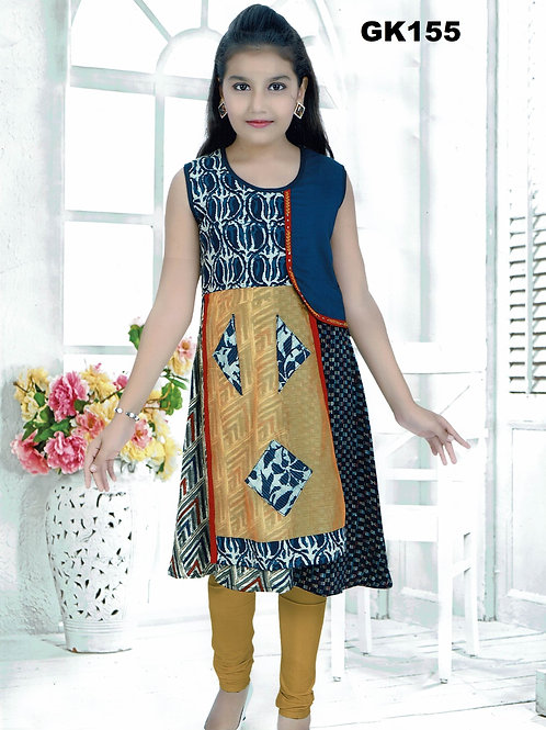 Girl's Kurthi with Legging - GK155