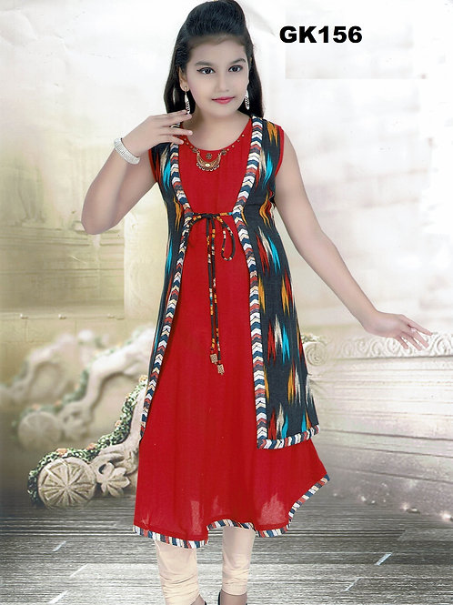 Girl's Kurthi with Legging - GK156