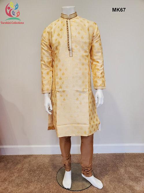 Men's Silk Kurta Pajama - MK67