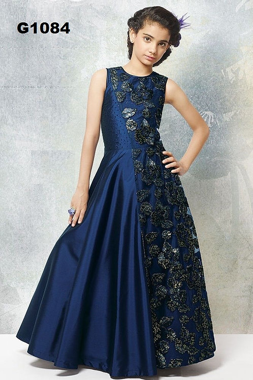 Girl's Long Gown - G1084