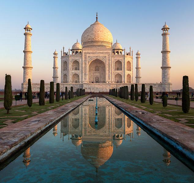 Mariana Martin, Taj Mahal.