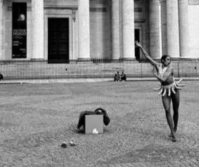 Pantheon Pop-Up Performance in Paris