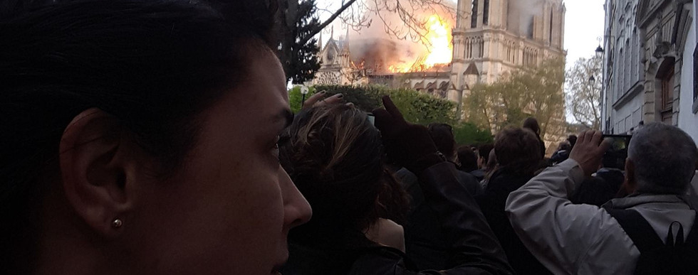 Witness to Historic Events such asNotre Dame Fire