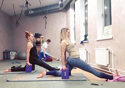 Йога в Центре спорта в Коммунарке