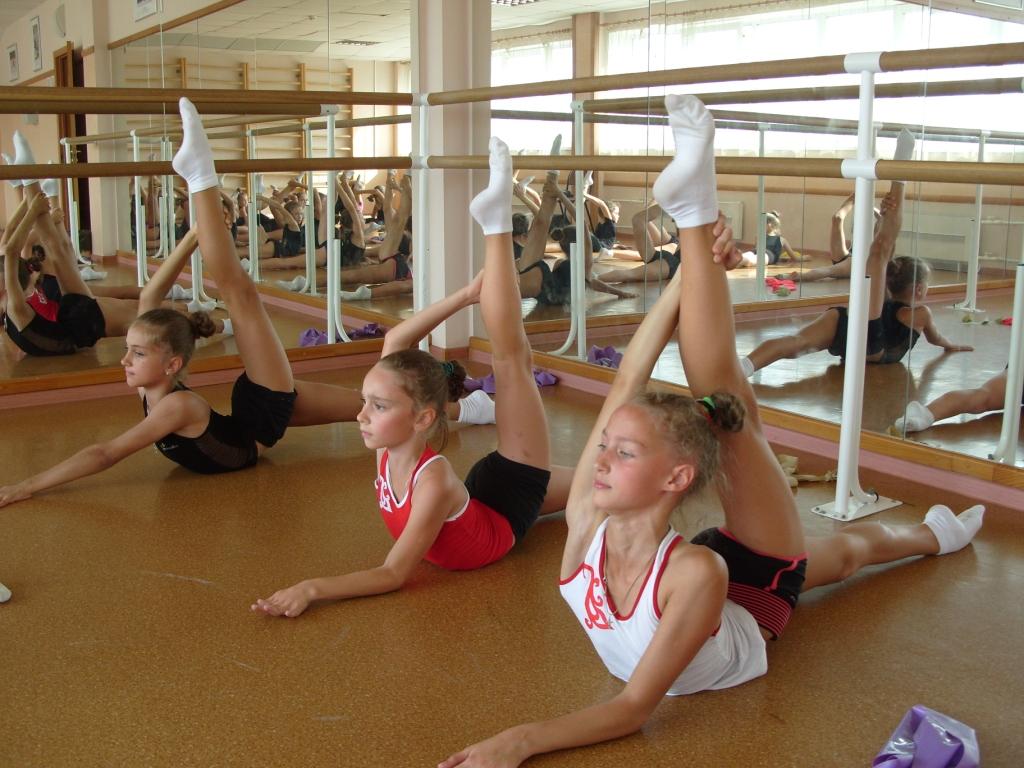 Хореография для художеств гимнастики