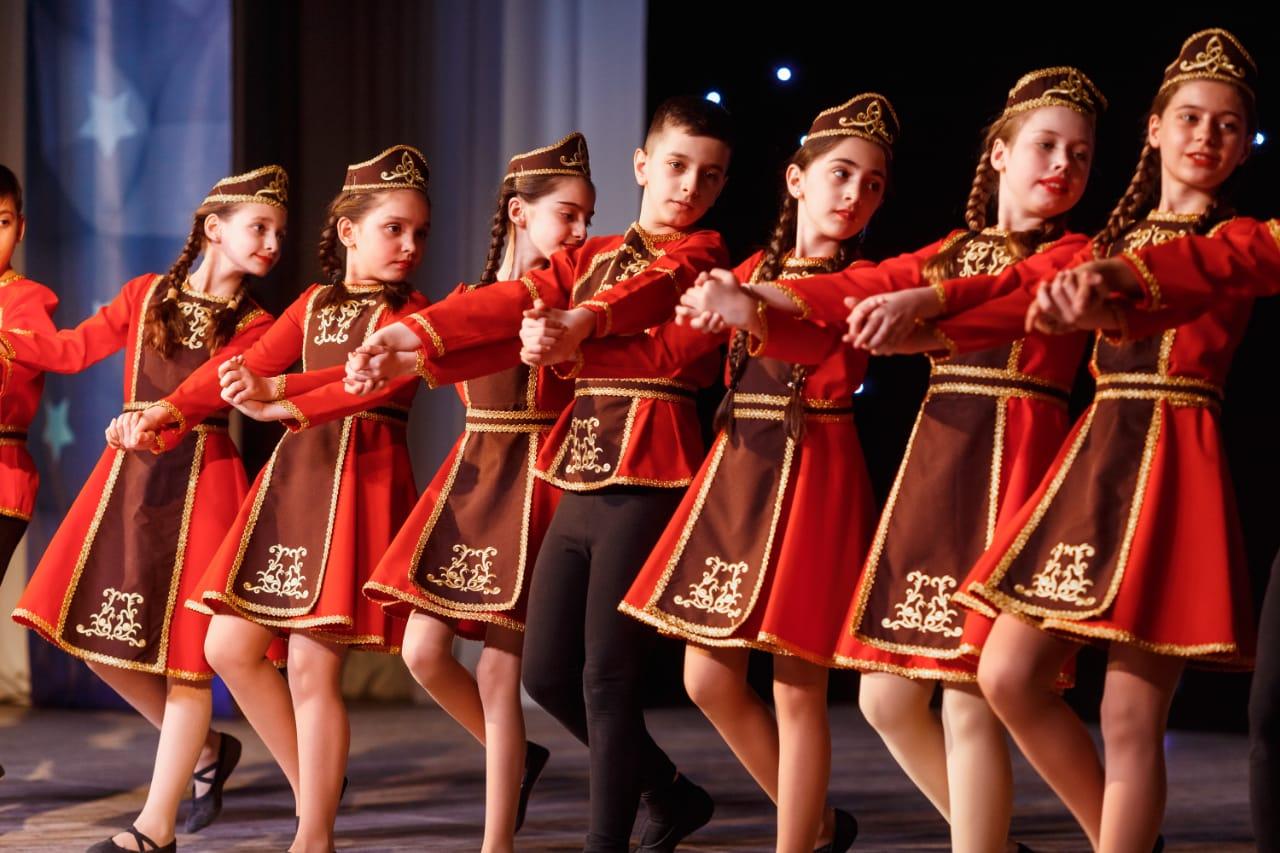 Армянские танцы Коммунарка