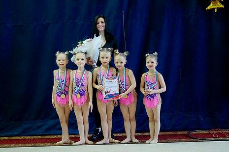 Климова Нино художественная гимнастика в