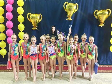 Климова Нино художественная гимнастика К