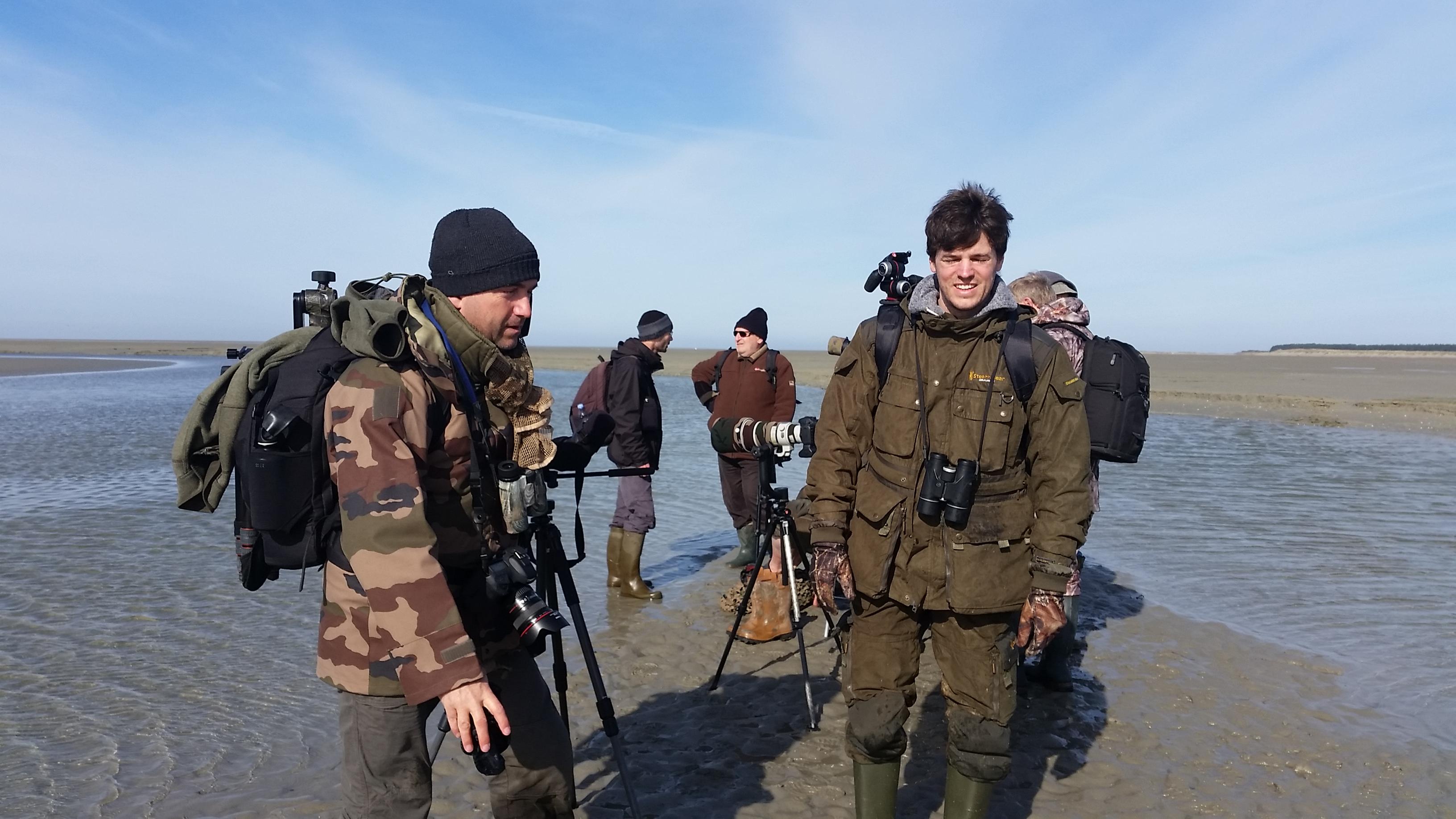 Rencontre photographique en baie de Somme – Jusqu'au banc de l'Îlette