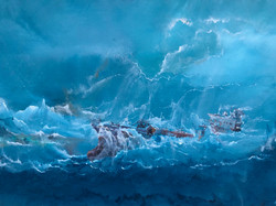 Vessel in the storm