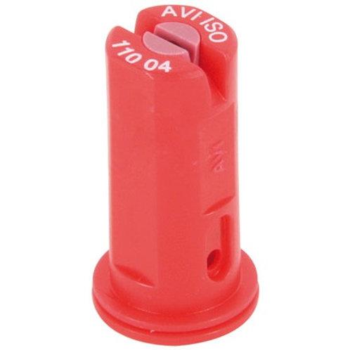 Injektor Flachstrahl - Düse Keramik Albuz AVI110-04 rot