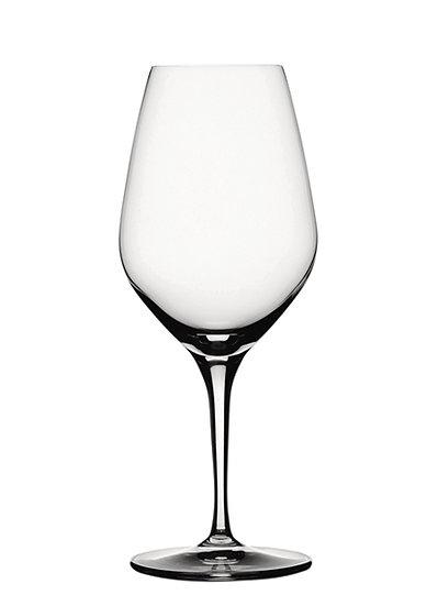 ,,Authentis'' Rotwein/Wasser Glas