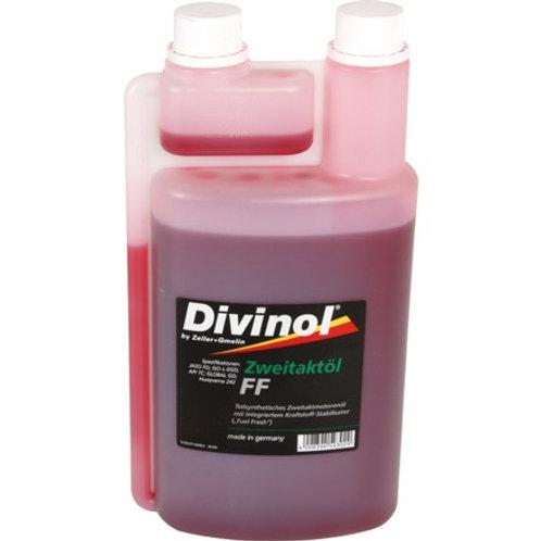 2 Takt Öl Divinol- teilsynthetisch, 1 Liter Dosierflasche
