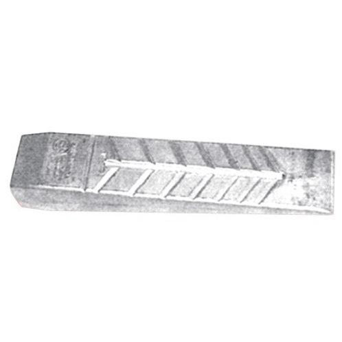 Alu Fäll- und Spaltkeil Sicherheitskeil, Gewicht: 1100