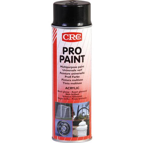 Farbspray Profi Farbe Schwarzglanz 500 ml
