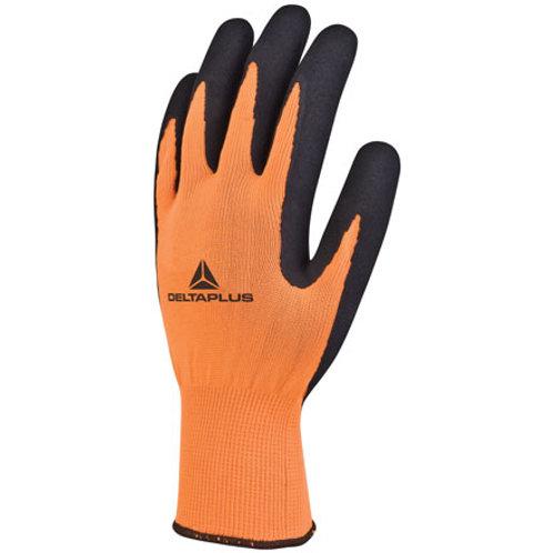Arbeitshandschuhe Apollon Orange-Schwarz Gr.8