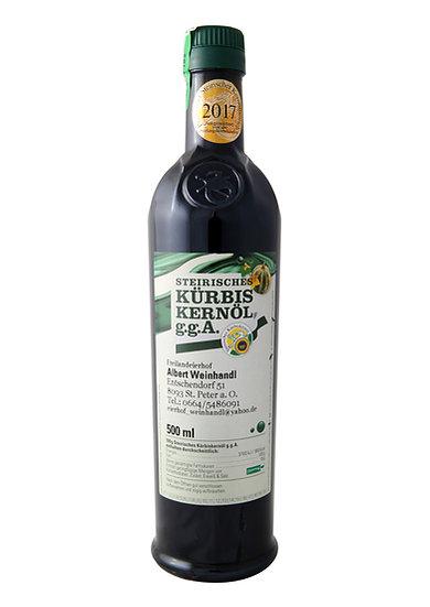 Steirisches Kürbiskernöl 0,5lt