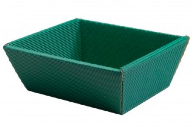 Geschenkebox für 4-5 Flaschen (Grün)