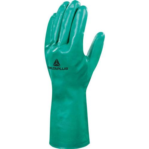 Arbeitshandschuhe Nitrex mit Chemiekalienschutz Grün Gr.9