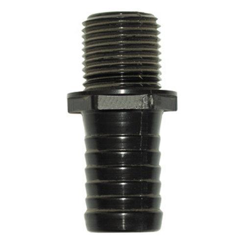 Schlauchanschluss gerade Außengewinde 1 1/4 Zoll Tülle 40 mm