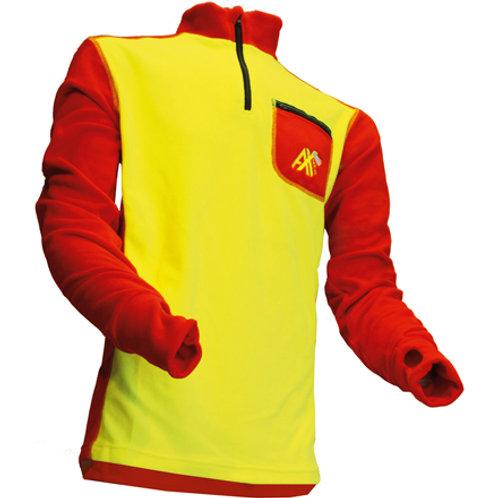 ISO-Shirt rot-gelb G.: S
