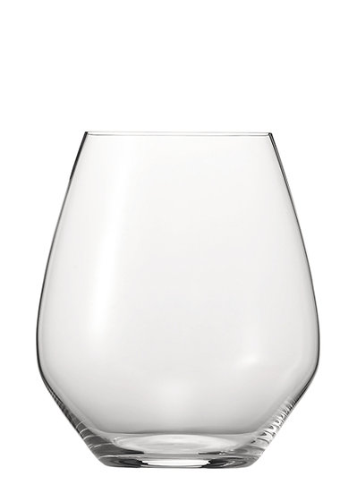 ,,Authentis Casual'' Bordeaux/Wasser Glas