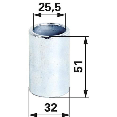 Oberlenkerbuchse 25/32 mm