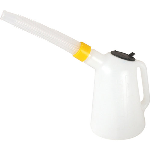 Ölmesskanne KMF 3000 ml PVC mit flexiblem Auslaufrohr