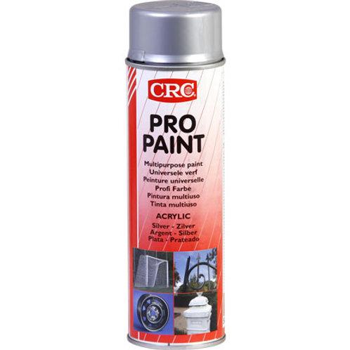 Farbspray Profi Farbe Silber 500 ml