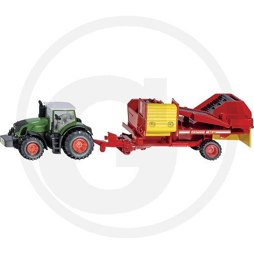Siku Fendt Traktor mit Kartoffelroder