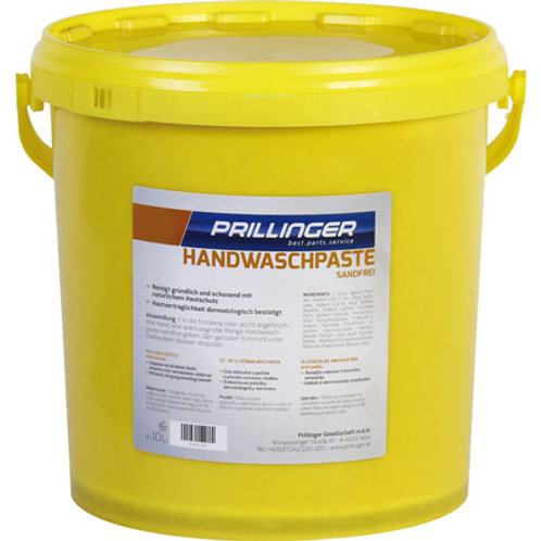 Hautreinigung Prillinger Handwaschpaste, sandfrei, 10 Liter