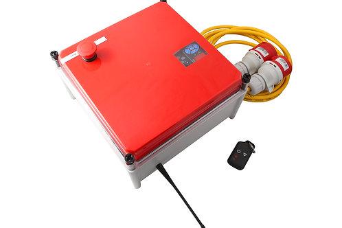 Frequenzumrichter mit FB im Gehäuse 3,7 kW
