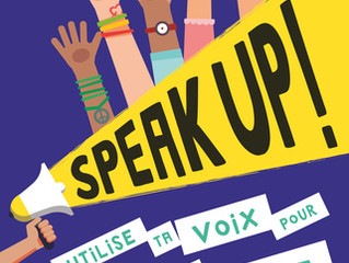 Zoom sur... Speak up !