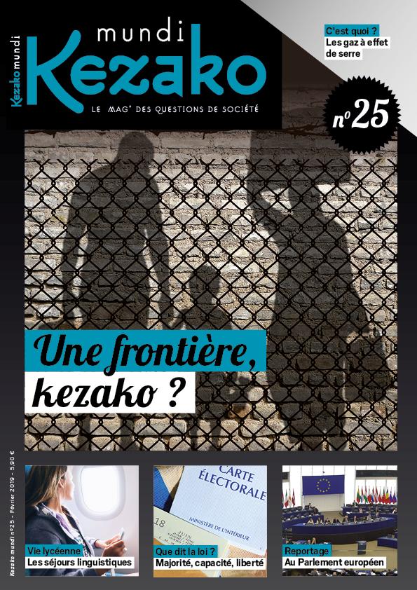 Couverture Kezako mundi 25