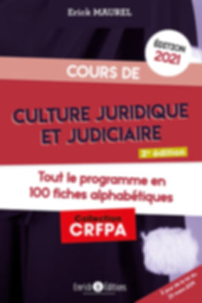 Culture juridique et judiciaire