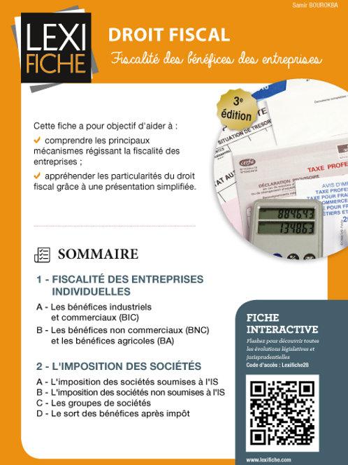 Lexifiche  -  Droit fiscal