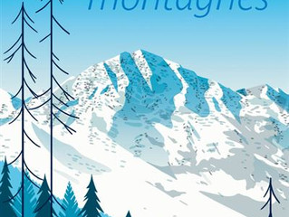 Ce qu'il y a entre le ciel et les montagnes...