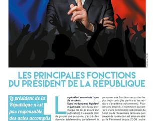 Actu : les fonctions du président de la République