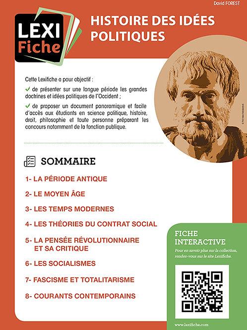 Lexifiches - Histoire des idées politiques