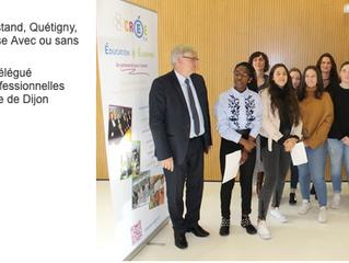 Bravo aux élèves de 3e3 et 3e5 du collège Jean Rostand de Quetigny !