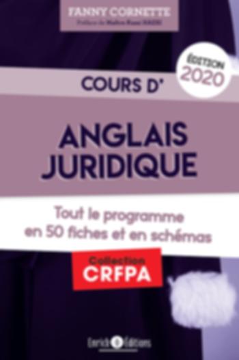 cours d'Anglais juridique CRFPA