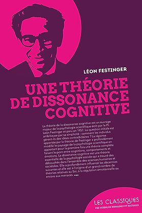 Une théorie de dissonance cognitive leon festinger
