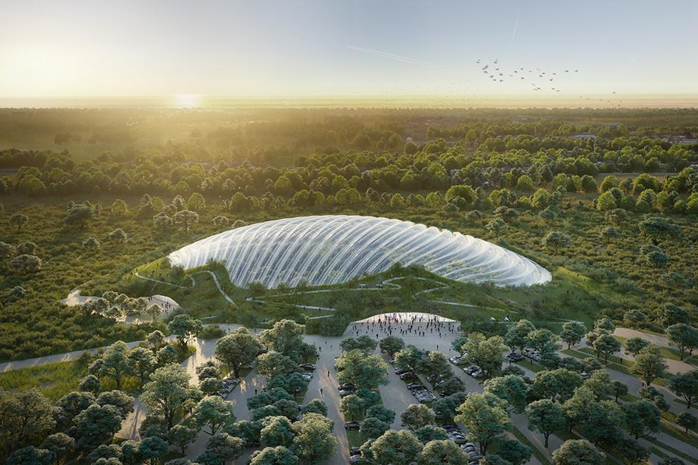 Le projet Tropicalia. (Coldefy et Associés Architectes Urbanistes